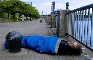 homeless in portland